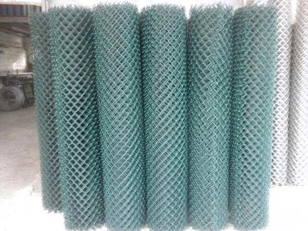 Type Plastic Coated Chain Link Fences In Rolls